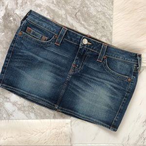 True Religion   Denim Miniskirt
